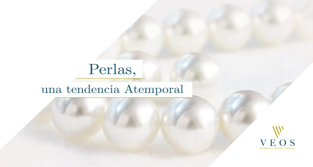 Perlas, una tendencia atemporal