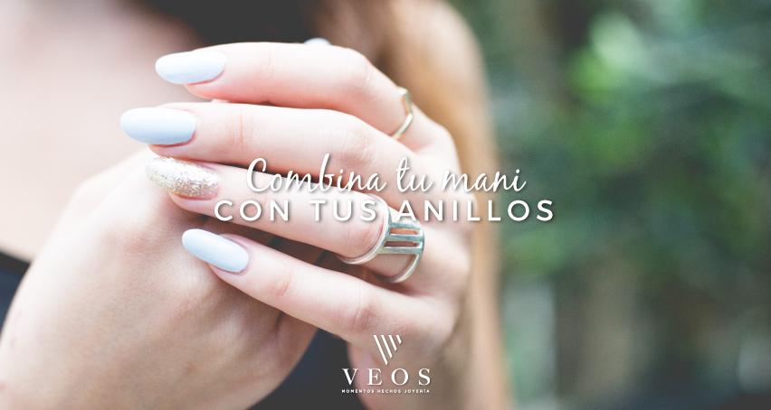 Combina tu mani con tus anillos