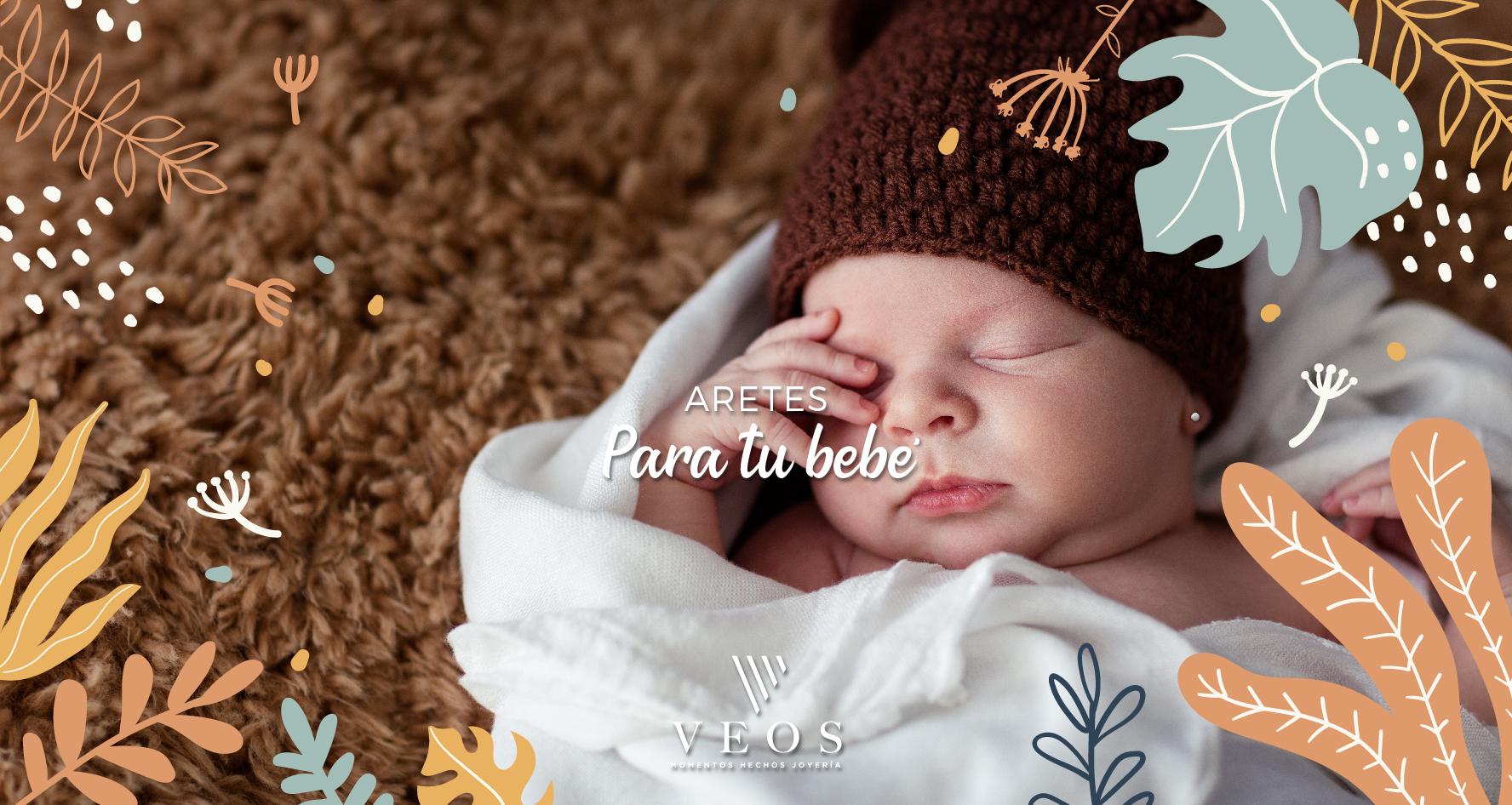 Aretes para tu bebé